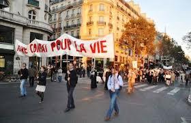 France _ la 22e Marche pour la vie et la famille