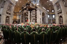 Le synode et le Magistère ordinaire de l'Eglise