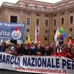 Grand succès de la VIème Marche pour la Vie à Rome