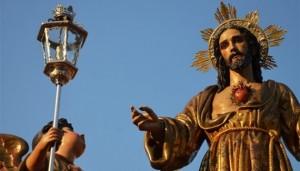 Consécration du Pays au Sacré-Cœur de Jésus